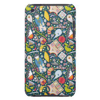 Japanese Seamless Pattern iPod Touch Case