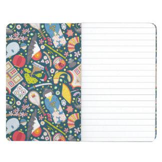 Japanese Seamless Pattern Journal