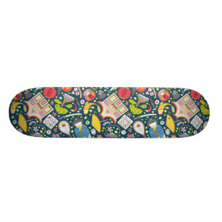 Japanese Seamless Pattern Skateboard Decks