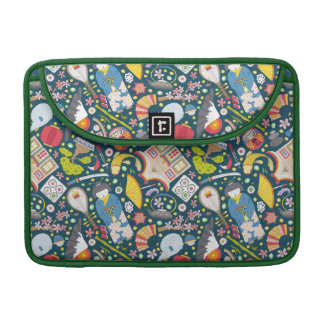 Japanese Seamless Pattern Sleeves For MacBooks