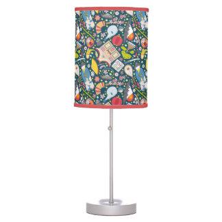Japanese Seamless Pattern Table Lamp