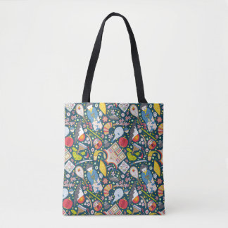 Japanese Seamless Pattern Tote Bag