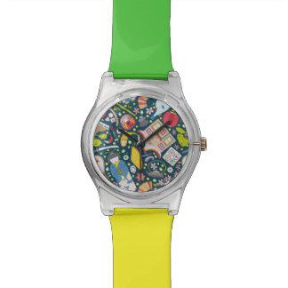 Japanese Seamless Pattern Watch