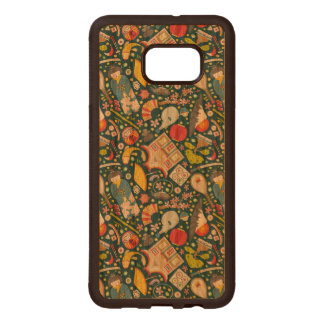 Japanese Seamless Pattern Wood Samsung Galaxy S6 Edge Case
