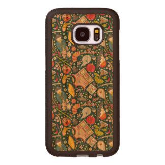 Japanese Seamless Pattern Wood Samsung Galaxy S7 Case