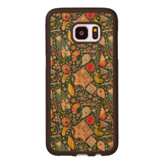 Japanese Seamless Pattern Wood Samsung Galaxy S7 Edge Case