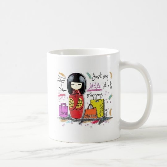 Japanese shopaholic mug