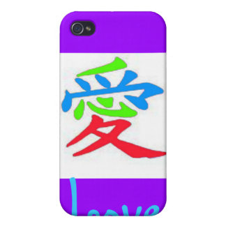 Japanese sign for love iPhone 4/4S covers