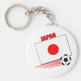 Japanese Soccer Team Keychain