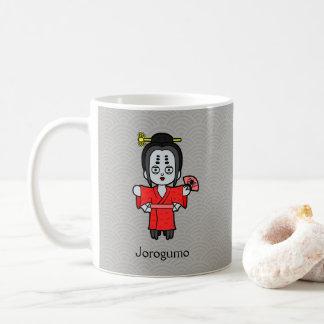 Japanese Spider Lady Jorogumo: Cartoon Youkai Coffee Mug