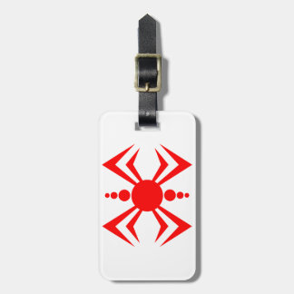 Japanese Spider Luggage Tag