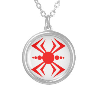 Japanese Spider Silver Plated Necklace