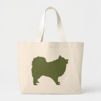 Japanese Spitz Jumbo Tote Bag