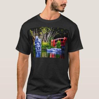 Japanese Stone and Bridge T-Shirt