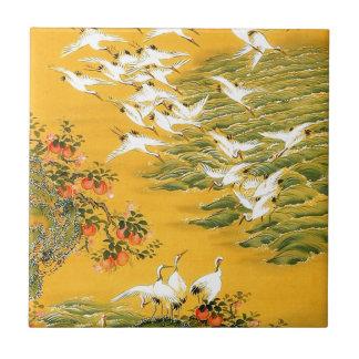 Japanese Storks image Tile