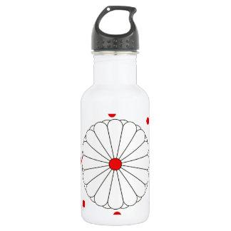 Japanese stripes flag 532 ml water bottle