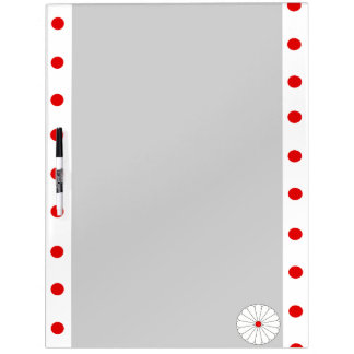 Japanese stripes flag dry erase board