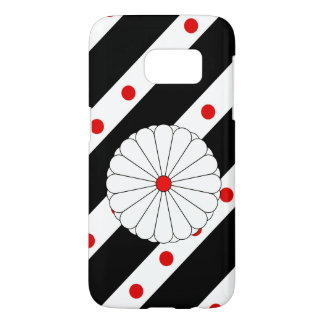 Japanese stripes flag samsung galaxy s7 case
