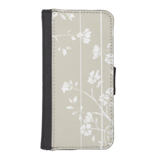 Japanese Style Floral iPhone SE/5/5s Wallet Case
