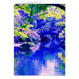 japanese style garden card