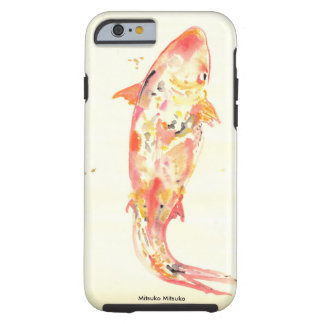 Japanese Style Koi Fish in Watercolor Tough iPhone 6 Case