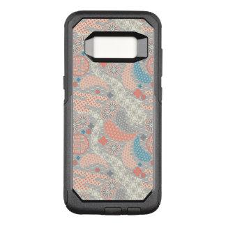 Japanese style pattern. Illustration. OtterBox Commuter Samsung Galaxy S8 Case
