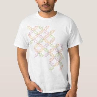 Japanese-style Shippo Pattern T shirt