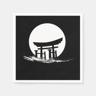 Japanese Sun Shrine Paper Napkin