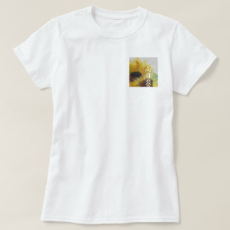 Japanese SunflowerT shirt of watercolor painting