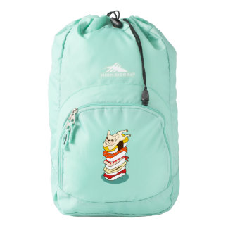 Japanese sushi night for the cute French Bulldog Backpack