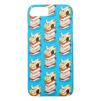 Japanese sushi night for the cute French Bulldog Case-Mate iPhone Case