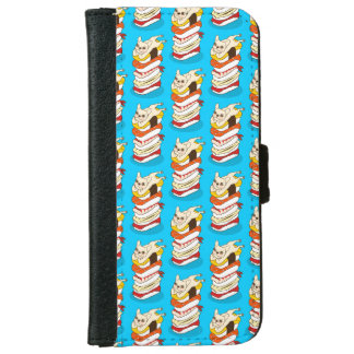 Japanese sushi night for the cute French Bulldog iPhone 6 Wallet Case
