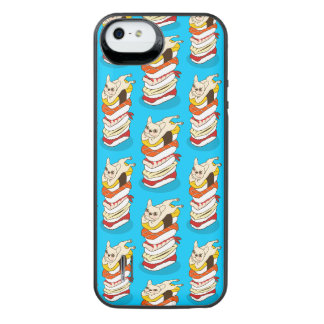 Japanese sushi night for the cute French Bulldog iPhone SE/5/5s Battery Case