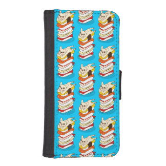 Japanese sushi night for the cute French Bulldog iPhone SE/5/5s Wallet Case