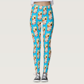 Japanese sushi night for the cute French Bulldog Leggings