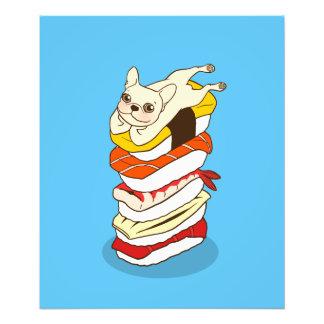 Japanese sushi night for the cute French Bulldog Photo Print