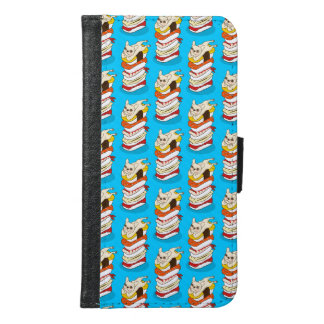 Japanese sushi night for the cute French Bulldog Samsung Galaxy S6 Wallet Case