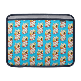 Japanese sushi night for the cute French Bulldog Sleeve For MacBook Air