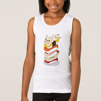 Japanese sushi night for the cute French Bulldog Tank Top