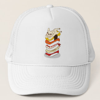 Japanese sushi night for the cute French Bulldog Trucker Hat