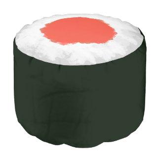 Japanese Sushi Tuna Maki Roll Pouf