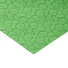 Japanese swirl pattern - pine and lime green tissue paper