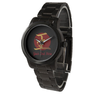 Japanese Symbol: King Personalized Watch