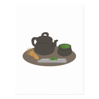 Japanese Tea Ceremony Postcard