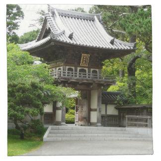 Japanese Tea Garden in San Francisco Napkin