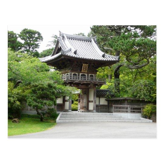 Japanese Tea Garden in San Francisco Postcard