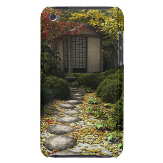 Japanese Tea House and Garden in Autumn Barely There iPod Covers