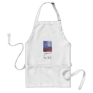 japanese tea lady apron