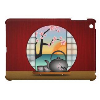 Japanese Tea Room Red Custom iPad Mini Cases