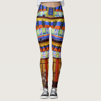 Japanese Temple Leggings